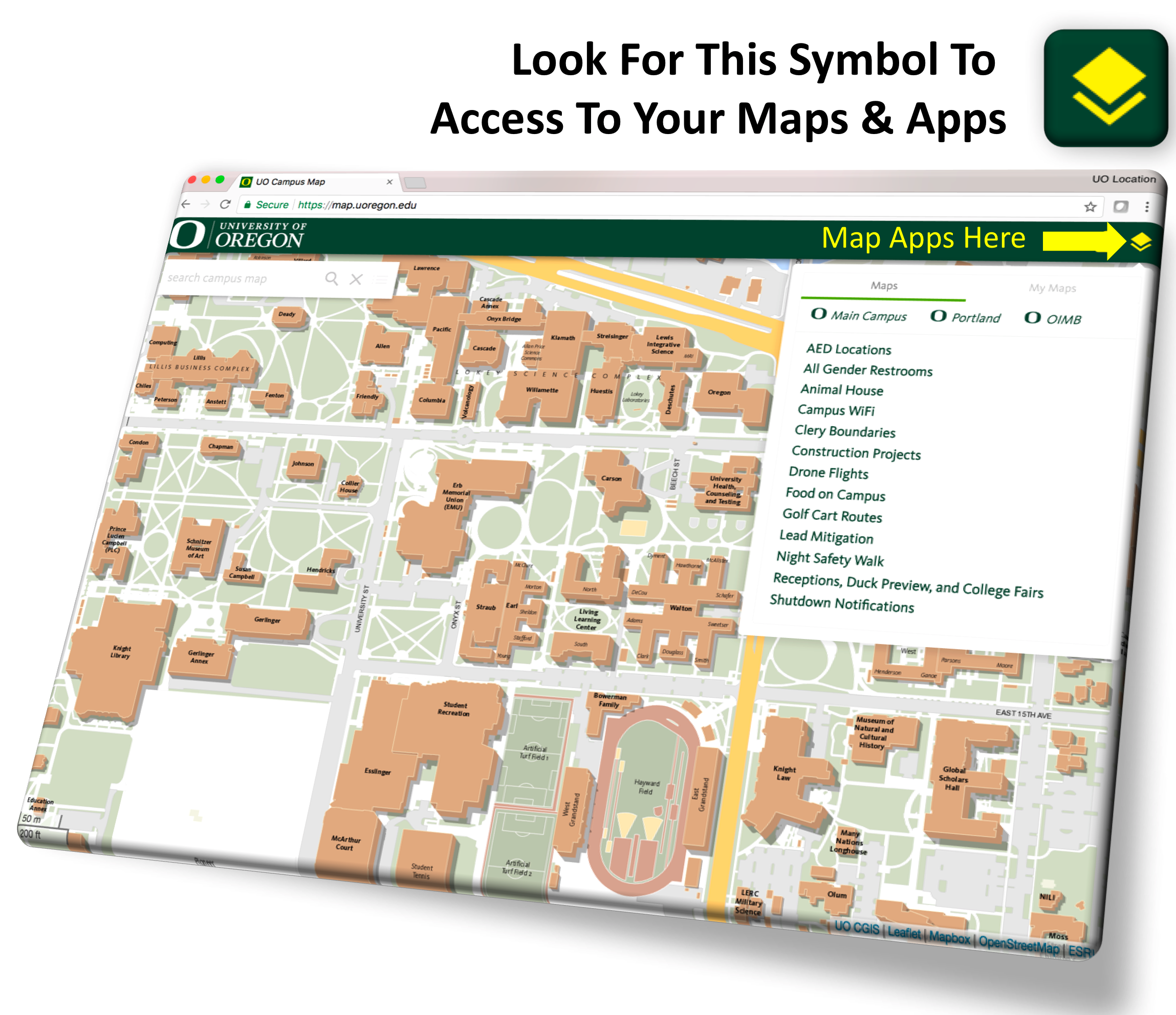 The Campus Map | Safety and Risk Services