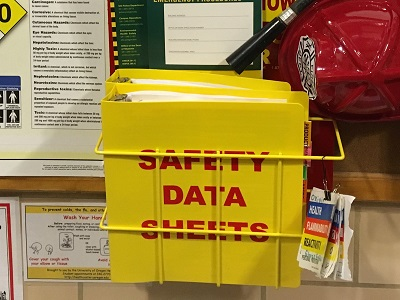 Safety Data Sheets Binder