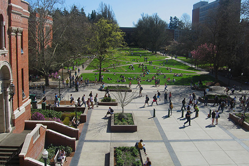 UO campus photo